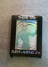 There Are Aliens Among Us   Complete Trading Card Set   U.F.O   Martians  Aliens