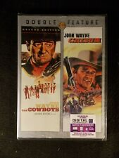 The Cowboys/Chisum (2 DVD's, 2013) John Wayne Double Feature BRAND NEW!