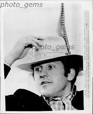 1974 Frank Tarkenton in New Hat Original Wire Photo