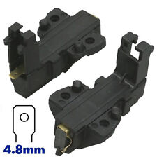 2 x Motor Carbon Brushes For BAUKNECHT IKEA NEW WORLD Washing Machine Set pair