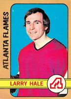 1972-73 O-Pee-Chee #53 Larry Hale RC Rookie Atlanta Flames