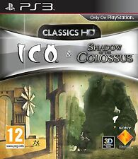 ICO & sombra del coloso Classics HD PS3 Video Juego Sony Playstation 3