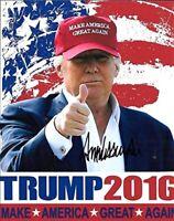 Donald Trump 8x10 REPRINT Signed Photo Autographed REPRINT