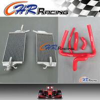 for Honda CR250 CR 250 R CR250R 2002-2004 aluminum radiator + hose 02-04 2003 03