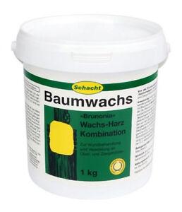Baumwachs Brunonia Wundverschlussmittel Veredlungsmittel Baumpflege 1kg Schacht