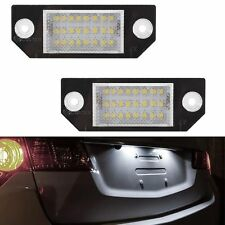 ECLAIRAGE PLAQUE LED FORD FOCUS 2 2004-2008 C-MAX 2003-2010 BLANC XENON