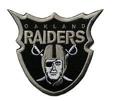 "�4"" Oakland Raiders Football Team Iron-on Team Logo Jersey Patch-Raider Nation"