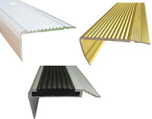 Treppenstufenprofil Abdeckprofil Treppenleiste Treppenkantenschutz [ 14 ]