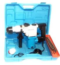 "1"" Electric Rotary Hammer Drill with SDS plus drill bits punch chisel power tool"