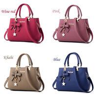 HOT Women Lady Leather Handbag Shoulder Bag Messenger Satchel Shoulder Crossbody