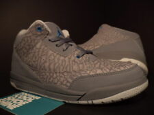 Kids 2011 Nike Air Jordan III 3 Retro PS FLIP CEMENT GREY BLUE BLACK WHITE 2Y 2