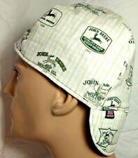 John Deere Green 100% cotton, Welding, Biker, Pipe-fitter,4 panel hat