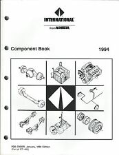 Truck Brochure - International - Component Book - Specifications 1994 (T2058)