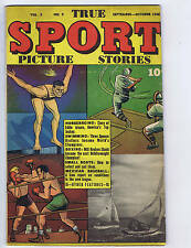 True Sport Picture Stories V3 #9 Street and Smith 1946