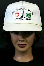 Fitz Equipment Company Inc Odessa Texas Baseball Trucker Cap Hat Adjustable