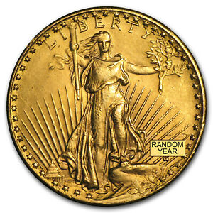 SPECIAL PRICE! $20 Saint-Gaudens Gold Double Eagle (Cleaned)