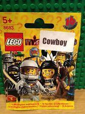 LEGO 8683 SERIES 1 .COWBOY BRAND NEW SEALED