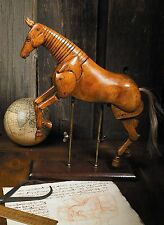 Artist Art Wood Wooden Articulated Drawing Large Horse Model Statue Figure New