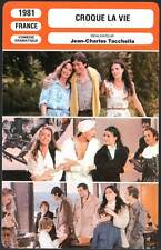 CROQUE LA VIE - Laure,Fossey,Giraudeau,Tacchella (Fiche Cinéma) 1981