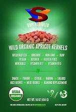 Wild Organic Apricot Kernels 1 lb