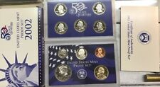 2002-S United States Mint Proof Set w/State Quarters