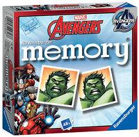 MARVEL AVENGERS ASSEMBLE MINI MEMORY RAVENSBURGER GAME
