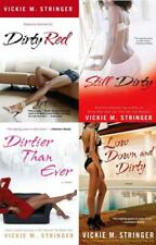 DIRTY RED Erotic Romance Series by Vickie Stringer TRADE Paperback Book Set 1-4