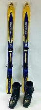 Kids Ski Package, 120 cm Head Carve Skis, Tyrolia Bindings, Dalbello RX18 fittin