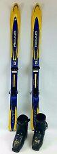 Kids Ski Package, 120 cm Head Carve Skis, Tyrolia Bindings, Dalbello RX18 fitted