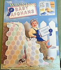 WINNING BABY AFGHANS Crochet Pattern Designs King Of The Fair 1st Place Grand