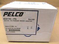 1 NIB PELCO ICS110-PG ICS110PG PENDANT MOUNT ADAPTER