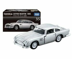 Takara Tomy TOMICA Premium No. 35 Aston Martin DB5 Diecast Toy Car