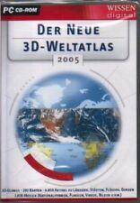 DER NEUE 3D WELTATLAS 2005 mit 3D Globus * XP *BRANDNEU