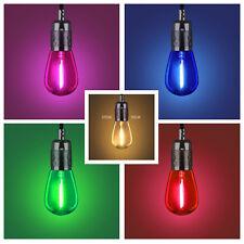 20-Pack 0.8W Coloured LED Light Bulbs e26 120V ambient decor warm light UL CE