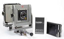 Calumet CC400 4X5 Camera with 135mm Lens + FRESH FILM + Holders