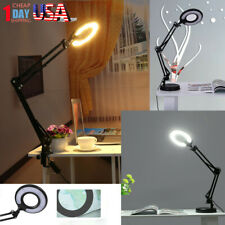 Adjustable Table Lamp Office Reading Lamp Desktop Or Clamp-On Mounting Options