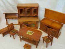 Z1886/  alte Puppenküchen Möbel  50 Jahre