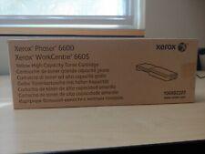 Genuine Xerox High Capacity Toner Cartridge Yellow 106R02227 Phaser 6600 New