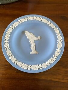 Wedgewood Jasperware Spirit of Ecstacy Trinket Dish, Excellent Condition