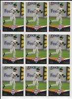 Lot of 9 ~ DEREK JETER 2008 National Baseball Card Day Upper Deck Cards #UD10