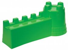 Sand Castle & Fortress Wall Bucket Sand Mould Asstd Colours Beach Summer Toy