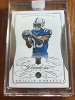 2015 Panini Flawless Phillip Dorsett Rookie REAL DIAMOND Silver /20 Seahawks