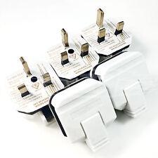 5 x heavy duty 3 pin spina con fusibile 13Amp 250volts durevole e robusta forte resistente