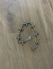 Chrome Hearts Cut Out Cross Braclet Armband sterling silver