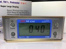 "iGAGING 6"" IP65 Magnetic Digital Level Light Display Bluetooth  35-2377"