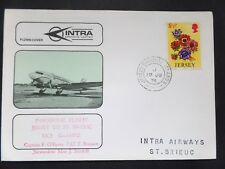 19/06/1974 Intra Airways Inaugural Flight Jersey to St Brieuc