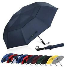 G4Free 62 Inch Portable Golf Umbrella Automatic Open Large Oversize Vented Doubl