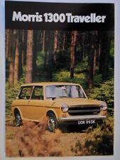 MORRIS 1300 TRAVELLER orig 1971 UK Mkt Sales Brochure - BL 2838