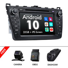 for MAZDA 6 2010 2011 2012 Car DVD GPS Stereo Android Quad Core DAB WiFi Camera