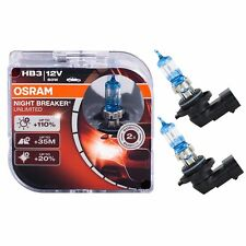 2 AMPOULES HB3 OSRAM NIGHT BREAKER UNLIMITED 60W 12V PHARES ECLAIRAGE +110%